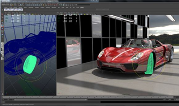 Imagination Intros Caustic Visualizer Plug-In For Maya