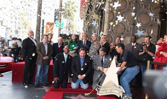 John Lassetter honored with Star on Walk of Fame