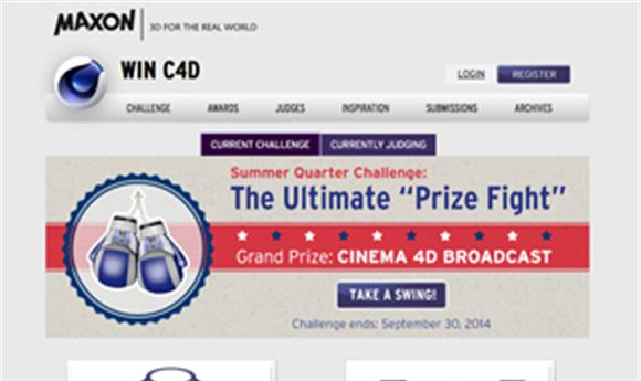 Maxon launches 'Ultimate Prize Fight' competition