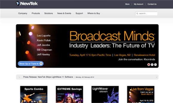 NewTek To Host 'Broadcast Minds' Event
