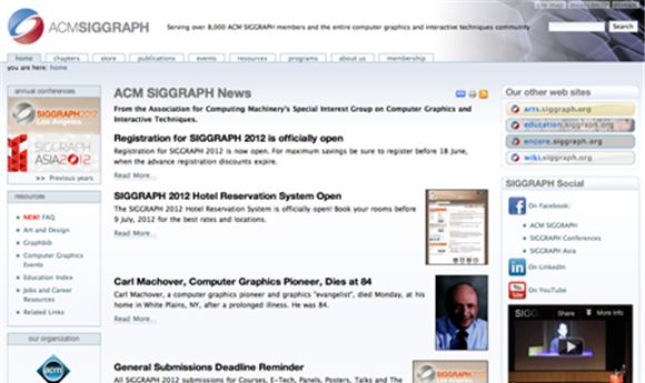 SIGGRAPH Seeks 'Mobile' Submissions For New Program