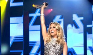 'Sunday Night Football' Kicks Off With Carrie Underwood