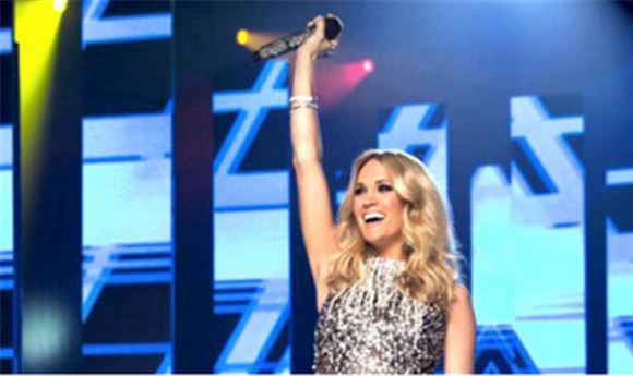 Sunday Night Football Kicks Off With Carrie Underwood Computer