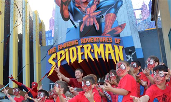 Universal's Spider-Man Attraction Re-Opens In Orlando