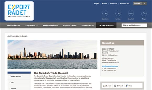 Swedish Trade Council Hosts 'Nordic Pavilion'