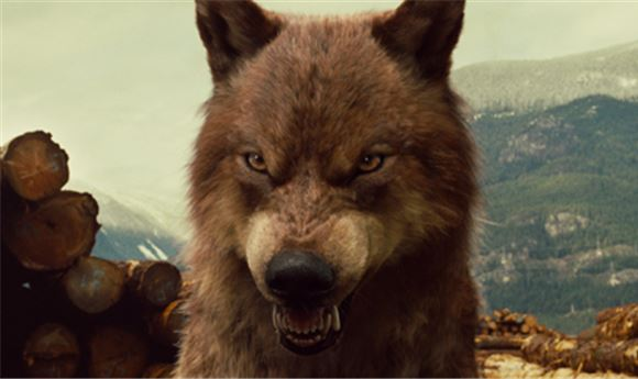 Breaking Dawn's CG Wolf Pack