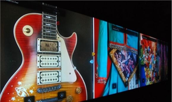 Obscura Lights Up Hard Rock Cafe's Gigantic Rock Wall with Nvidia Quadro Plex 2200 D2 Supported by PNY