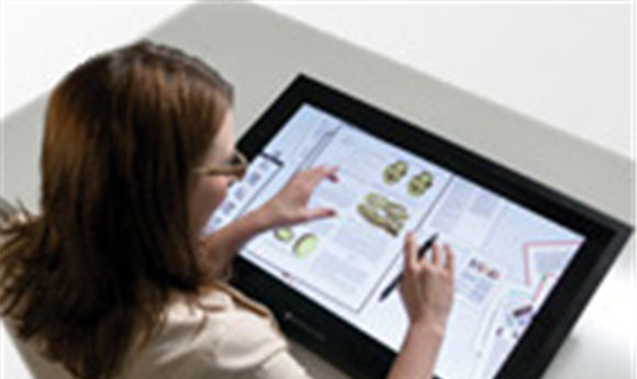 Perceptive Pixel Launches Professional Multi-Touch Desktop Display