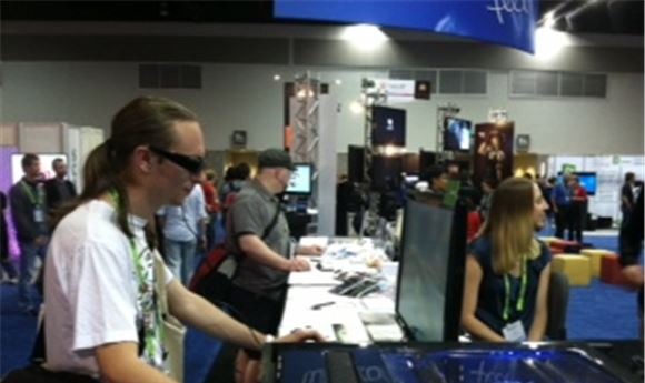 SIGGRAPH Opens, Visitors to CGW Booth Enjoy Gaming