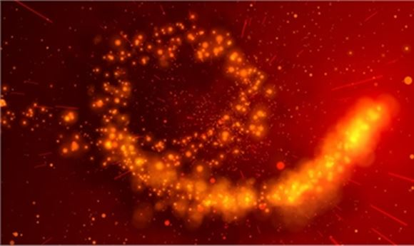 Red Giant Software's Trapcode Particular Employed in Angels & Demons