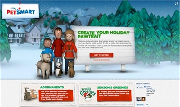 "Clickfire Makes Modern ""Animagic"" for Petsmart's Holiday Card Campaign"