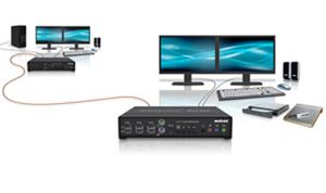 Matrox Introduces Avio F125 High-Performance Dual-Video KVM Extenders