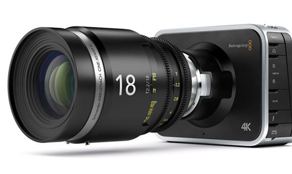 Blackmagic Design Reveals 4K Production Camera