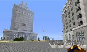Building Oakland in Minecraft