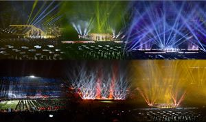 ThinkBreatheLive Transforms Super Bowl XLVIII Half-time Crowd into Panoramic Concert Screen