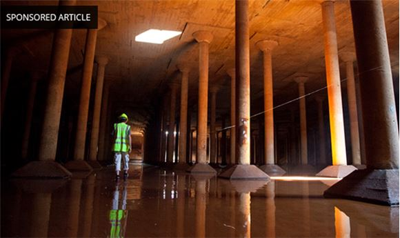 Bringing Inaccessible Places in the Real World into the Virtual World Through 3D Visualization The Cistern at the Water Works