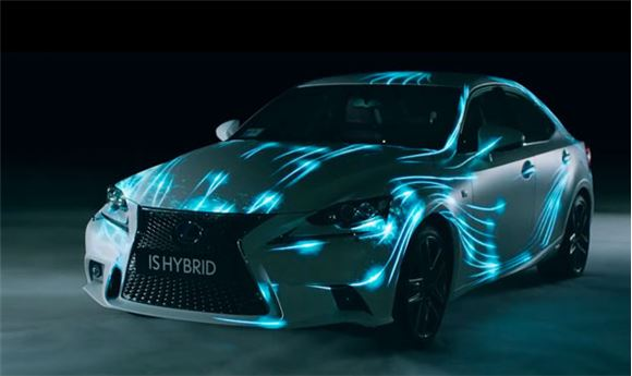 The New Lexus IS Hybrid Stars in the First Real-Time and Real-World Video Game