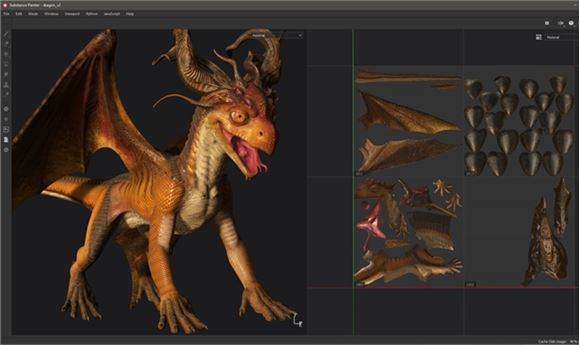 Substance Painter Release Enables Painting Across UV Tiles