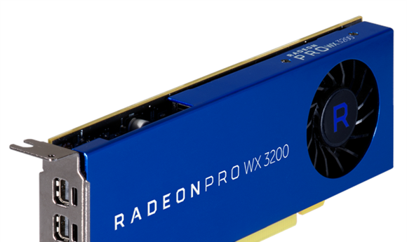 AMD Introduces the Radeon Pro WX 3200