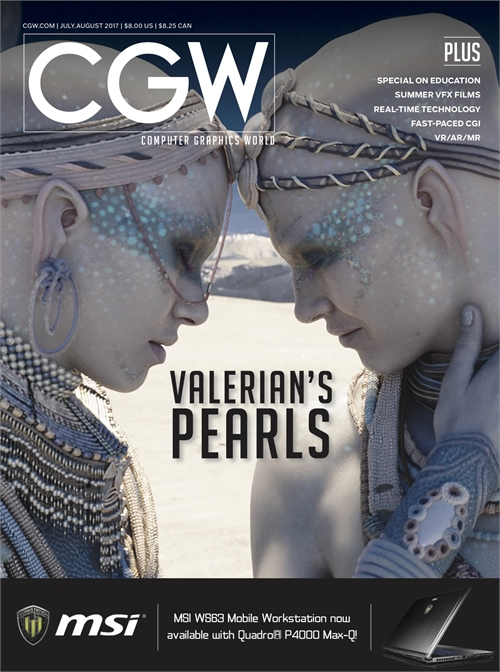 Current Issue | Computer Graphics World
