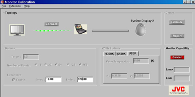 JVC Introduces Monitor Calibration Software | Computer