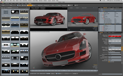 Luxology Delivers New Version of 3D Software modo 501 | Computer ...