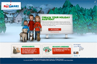 Clickfire makes modern animagic for petsmart s holiday Modern family christmas special