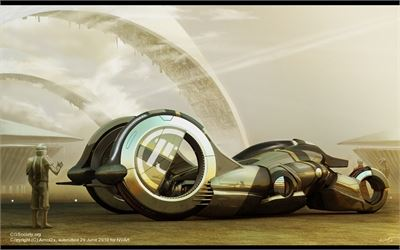 Syd Mead and Mythbusters have judged Digital Art Competition