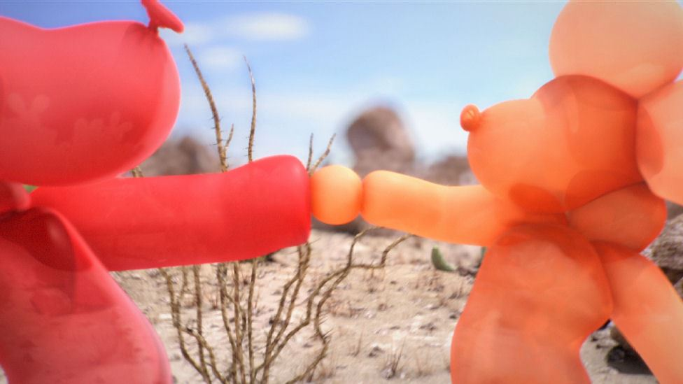Animated Short About Love-Struck Balloon Dogs Showcases 3D Character Design