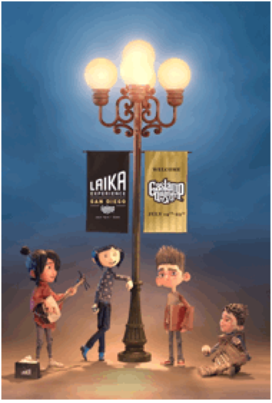 Participate in 'The LAIKA Experience'