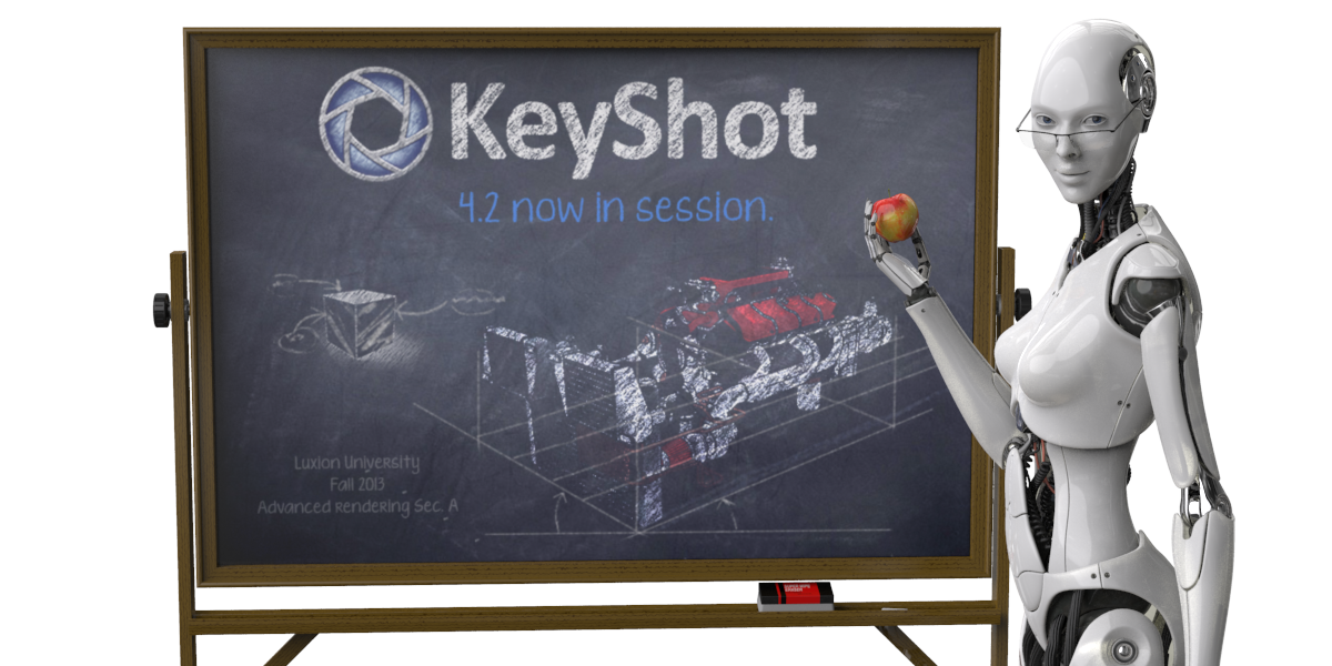 Luxion Releases KeyShot 4.2