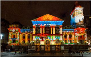 Technical Direction Company Delivers Projections Across Australia to Celebrate the Festive Season