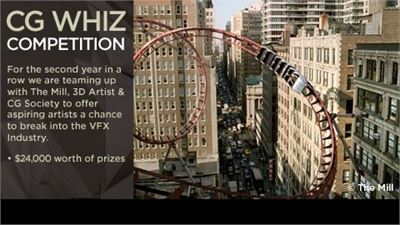 Third Annual CG Whiz Competition to Reward Computer Graphics Amateurs, Young Professionals