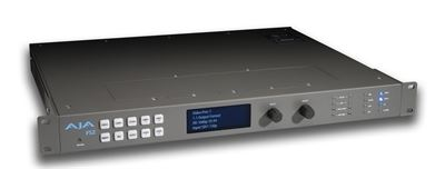 AJA Announces FS2 Dual-channel Universal Frame Synchronizer and Converter
