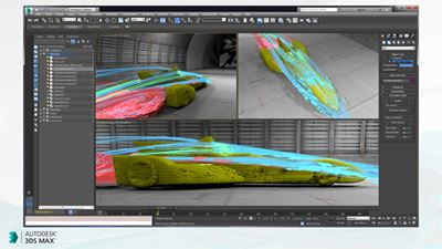 3DS Max Turns 25, Autodesk Releases 2016 Extension 2
