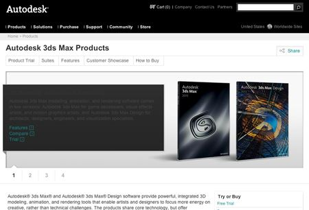 Autodesk Opens New Animation Store Within 3DS Max