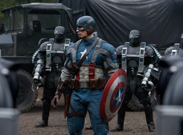 Captain America: The First Avenger Action Shots Captured with Canon Eos Digital SLR Cameras