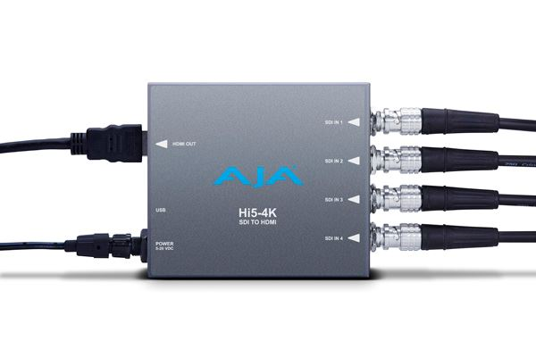 AJA Launches New Mini-Converters