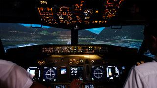 MPS deploys projectiondesign for new Airbus A320 at EPST for pilot selection & training