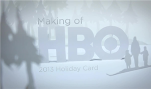 Holiday Card: The Making-Of the 'Paper' Video