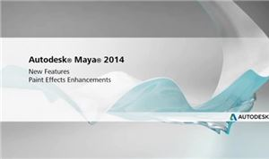 Autodesk Maya 2014: Paint Effects Enhancements
