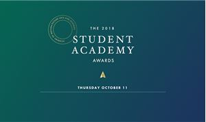 Finalists Named For 2018 Student Academy Awards