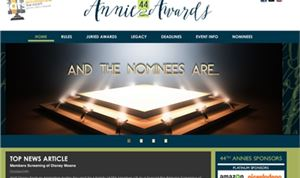 Nominees Announced For 44th Annual Annie Awards