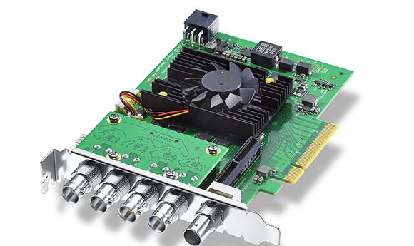 Blackmagic Introduces High-End DeckLink 8K Pro Capture Card