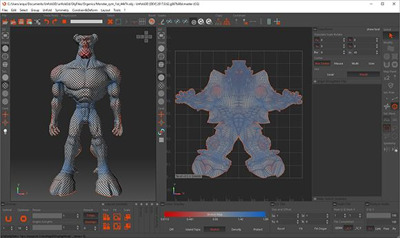 Rizom-Lab Releases Two Editions Of UV Unwrapping Software