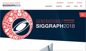 SIGGRAPH 2018 Seeks Submissions, Announces Program Expansions