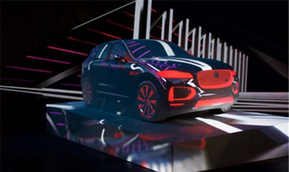 Jaguar's New SUV Comes To Life At Vivid Sydney