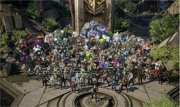 Epic Releases Free Paragon Assets