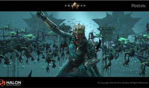 Halon Creates Postvis for 'Aquaman'