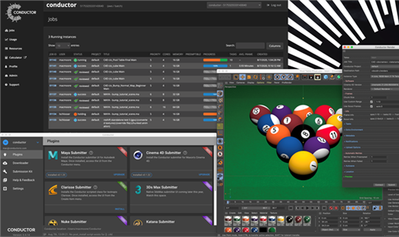 Usage-Based Conductor Licenses Available for Cinema 4D and Redshift